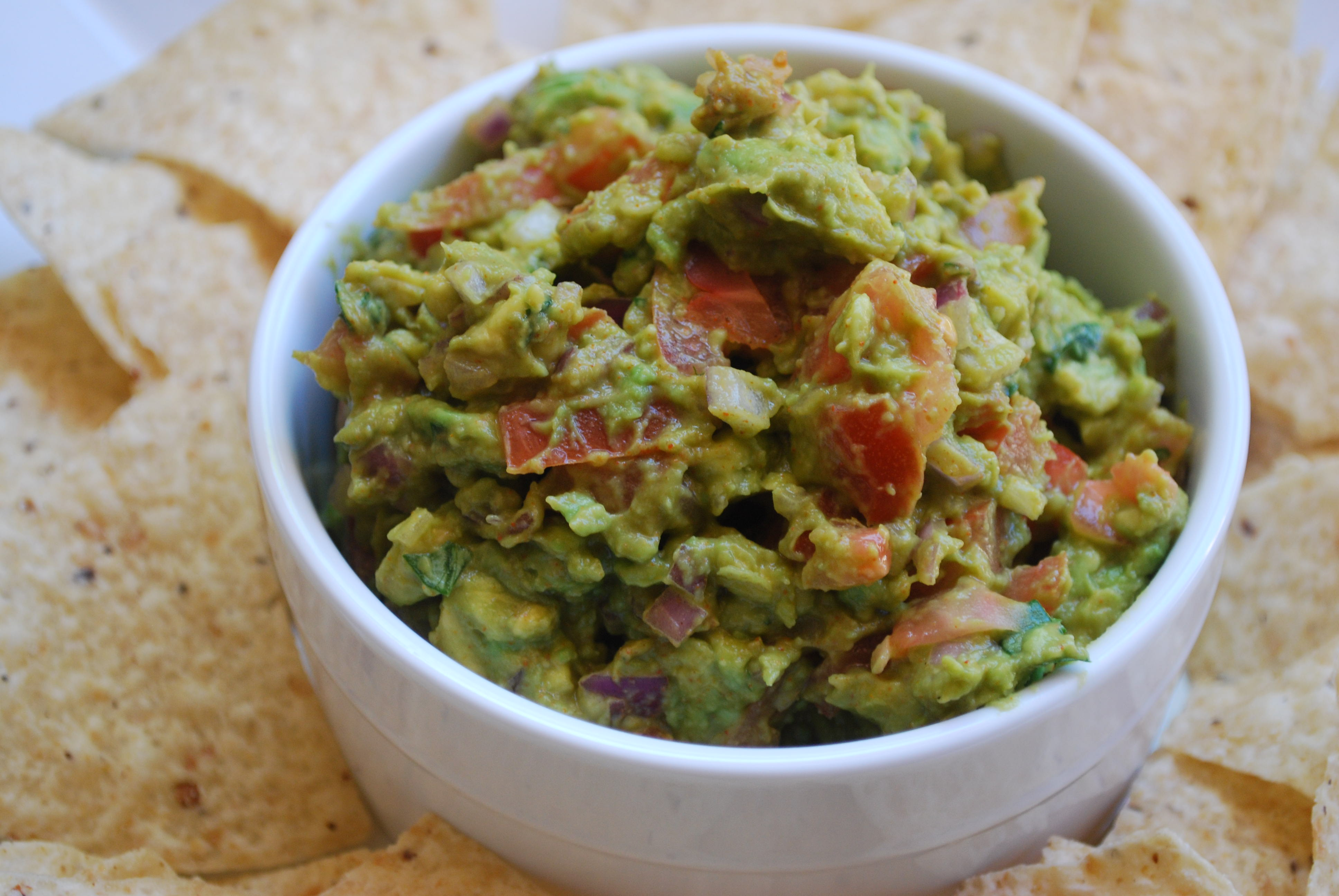 Spicy Guacamole Recipe | Cake and Allie