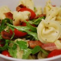Tortellini With Tomatoes & Arugula
