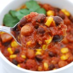 Bean and Corn Vegetarian Chili