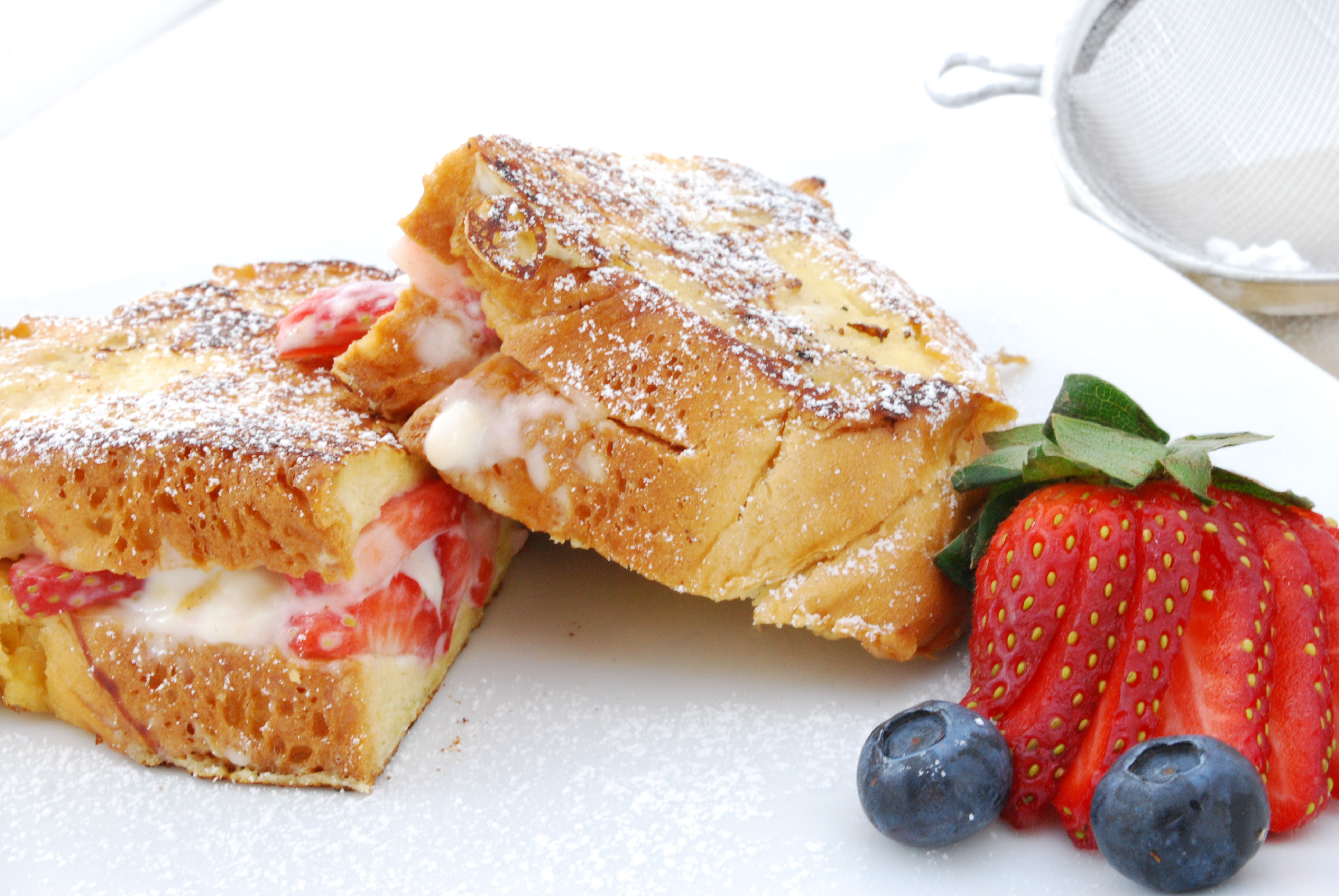 Stuffed French Toast Recipe | Cake and Allie