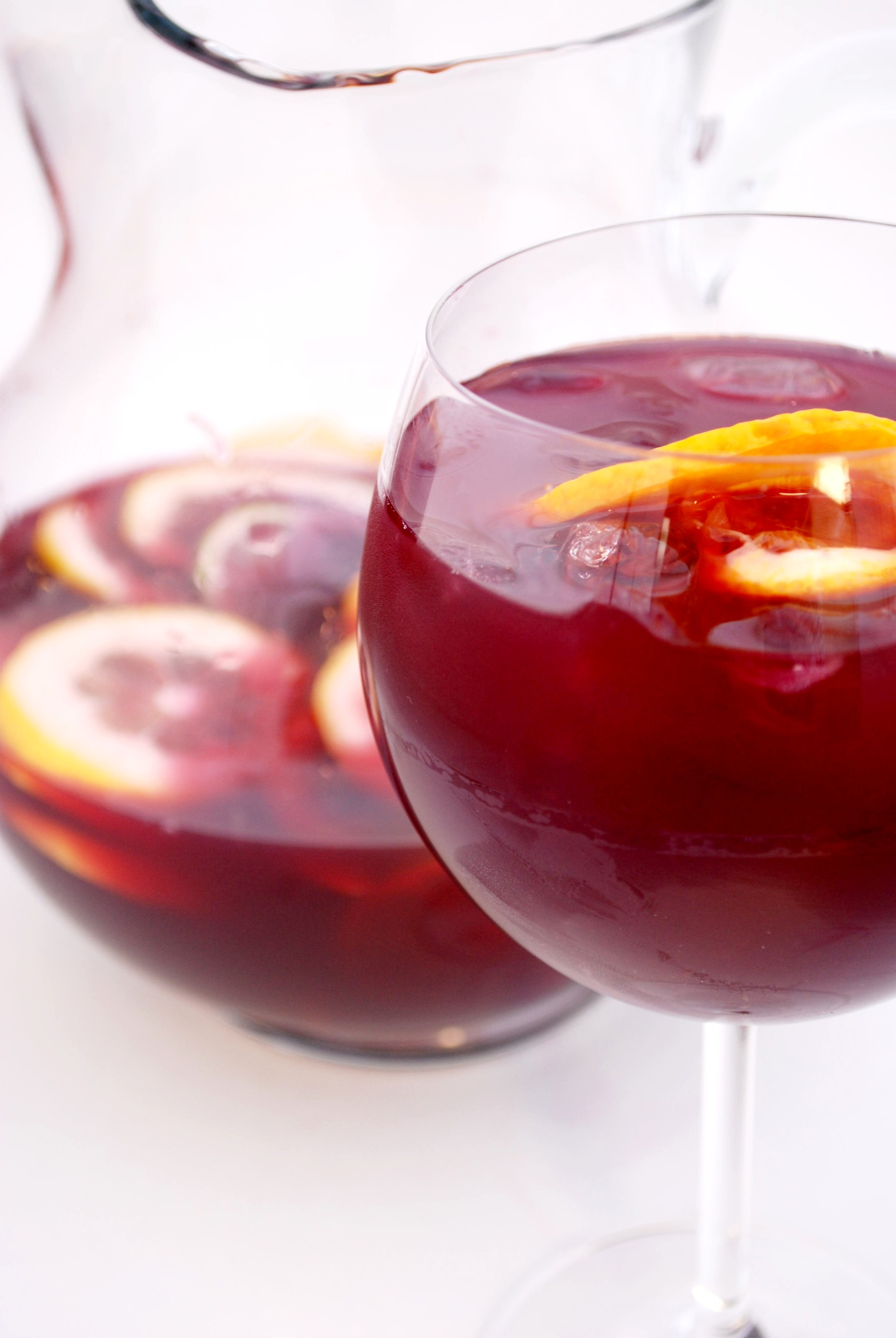 Sangria Recipe | Cake and Allie