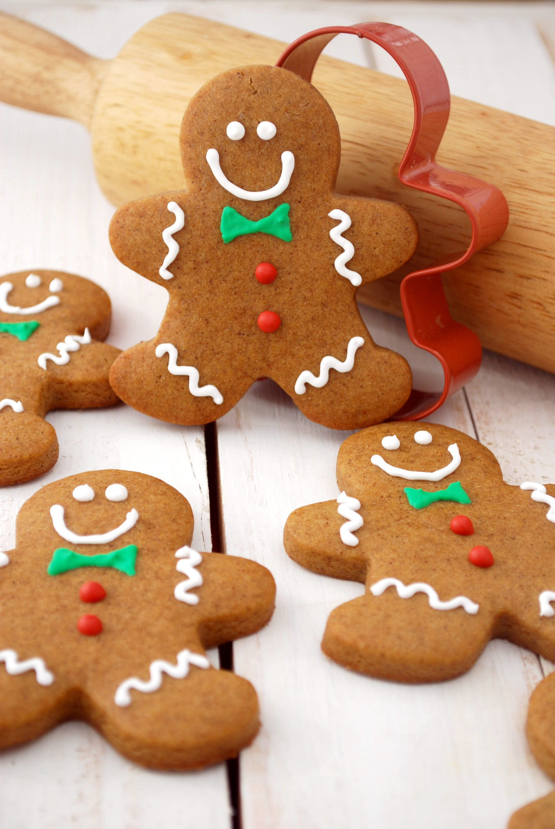 The recipe for gingerbread cookies
