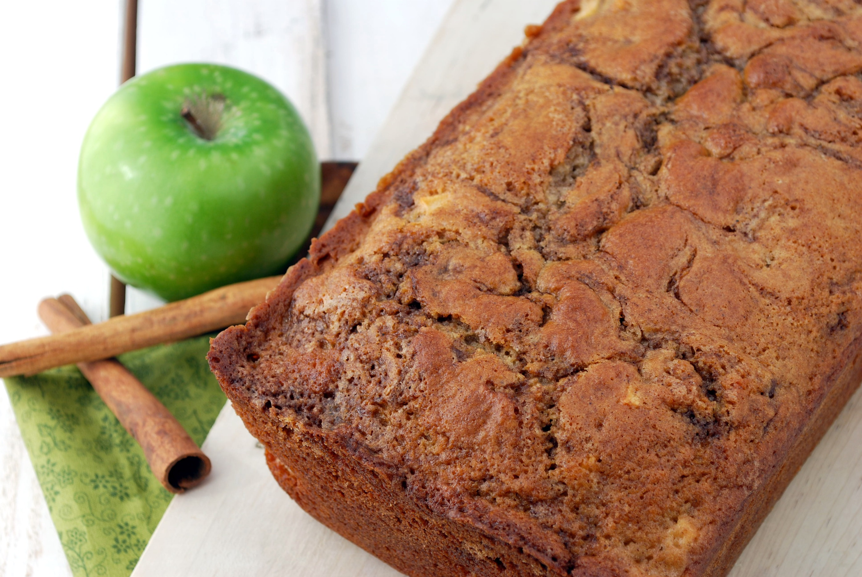 Apple Cinnamon Bread Recipe Cake And Allie