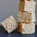 Salted Brown Butter Rice Krispie Squares